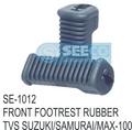 Front Footrest Rubber
