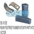 Rear Footrest Rubber Kit