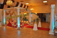 Indian Wedding Flower Pillar Mandap