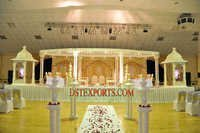 Wedding White Raja Mandap