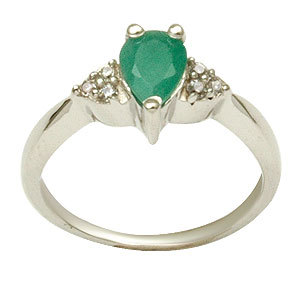 925 sterling silver finger ring latest design silver ring emerald studded sterling silver ring