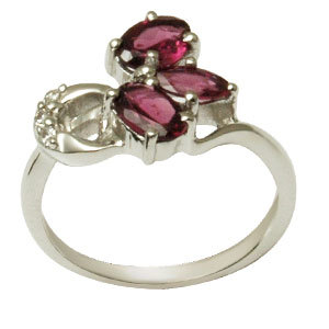 attractive design ladies silver finger ring gemstoneand  engagement rings finger ring