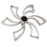 chakra pendant single gemstone silver pendant spiral pendant design