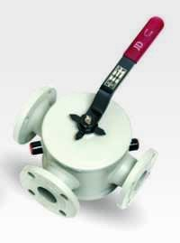 Jacketed 3 Way Ball Valve
