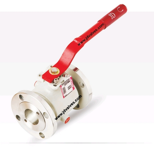 Half Jacketed Ball Valve