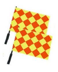Lines Man Flag