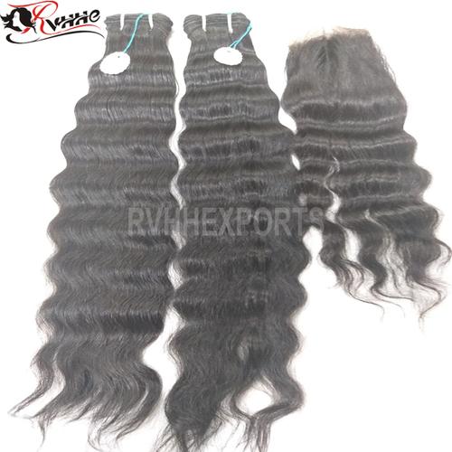 Machine Weft Soft Curly Hairs