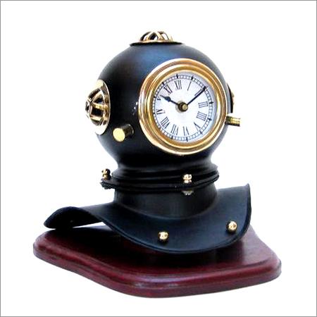 Divers Helmet Clock