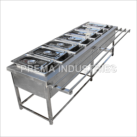 Bain Marie with GN Pans