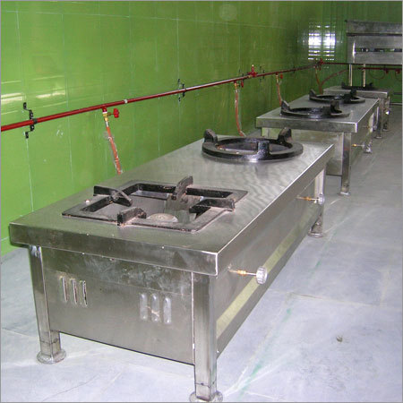 Commercial Two Bay Burner