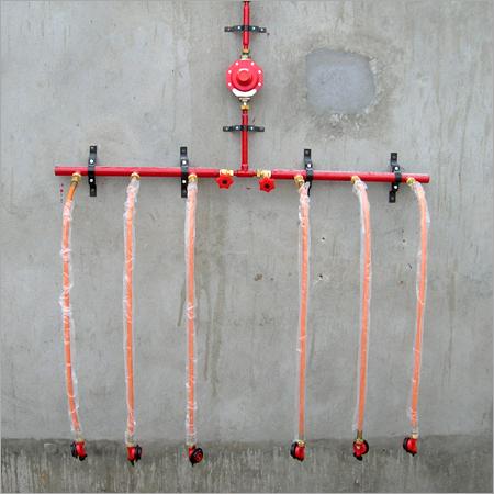 LPG Pipeline Connection