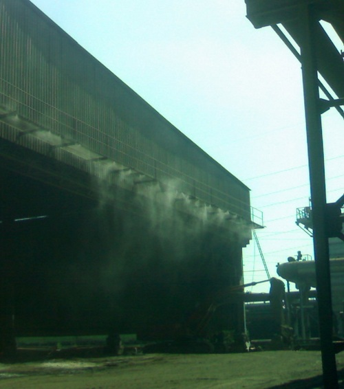 Dust Suppression System
