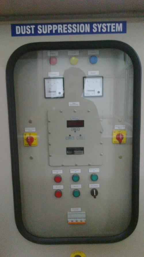 Dust Suppression Control Panel