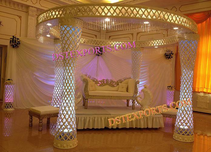 Latest Style Wedding Crystal  Jali Mandap