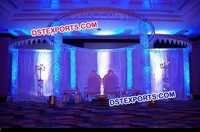 Beautiful Lavish Wedding Crystal Mandap