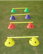 Cone Hurdle Set 6''