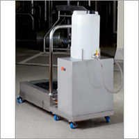 Hygienic Shoe Sole Cleaning Machine