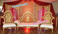 New Designer Asian Wedding Royal Sofa set