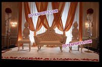Royal English Wedding Stage Furniture