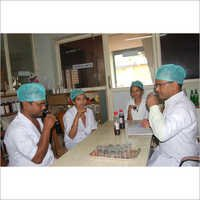 In Laboratory Testing Samples