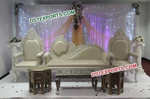 Asian Wedding Mehandi Stage Furniture