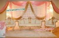 Indian Wedding Designer Sofa Set
