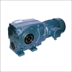 Right Angled Helical Worm Geared Motors Series  C