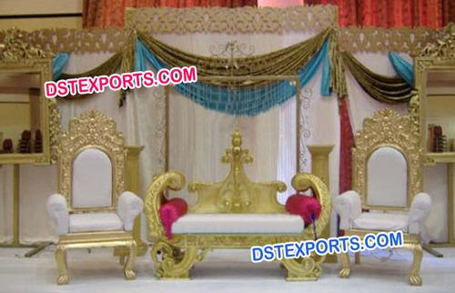 Maharaja Wedding Furnitures Set