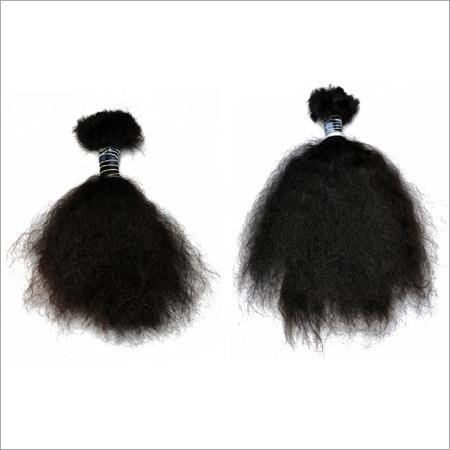 100% Virgin Remi Indian Bulk Hair Curly
