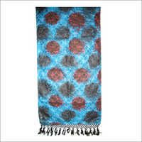 Blue Printed Stoles