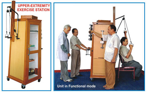 UPPER-EXTREMITY EXERCISE STATION