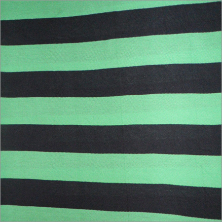 Cotton Pique Striped Fabric