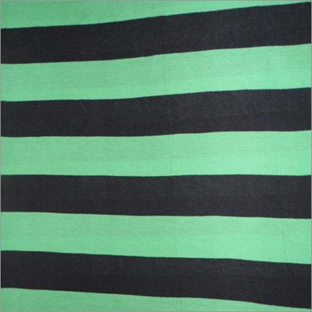 Cotton Pique Striped Fabric