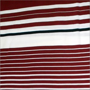 Engineering Stripe Knitted Fabric