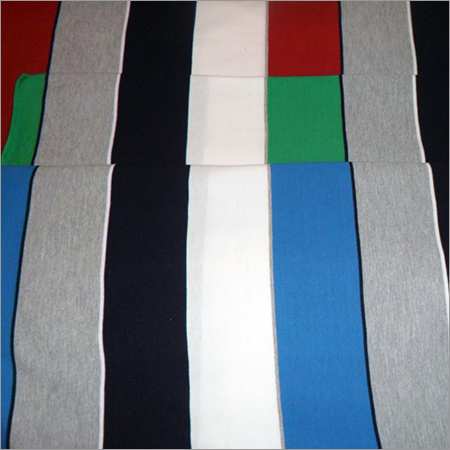 Polyester Feeder Stripe Fabric