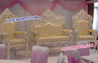Pearl Carving Stage Sofa Set