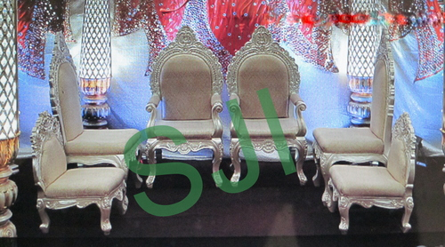 Mandap Wedding Chairs Set