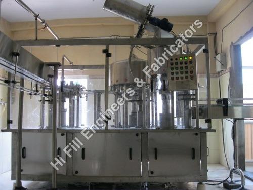 Automatic Rinser Filler Capper
