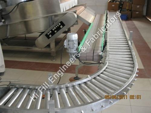 Gravity Roller Corner Bends