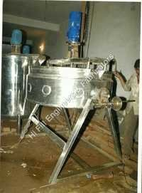 Stainless Steel Steam Jacketed Tank