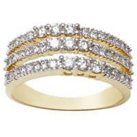 Girlish Diamond Rings