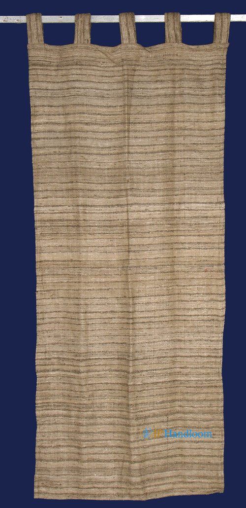 Silk Natural Tassar Curtain