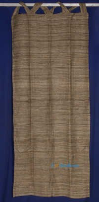 Tussar Silk Double weave Natural Curtain