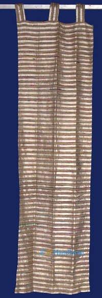 Silk Stripe Fancy Curtain