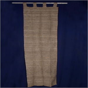 Silk Natural Door Curtain