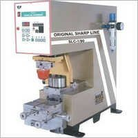 Single Color Ink Cup Pad Printing Machine