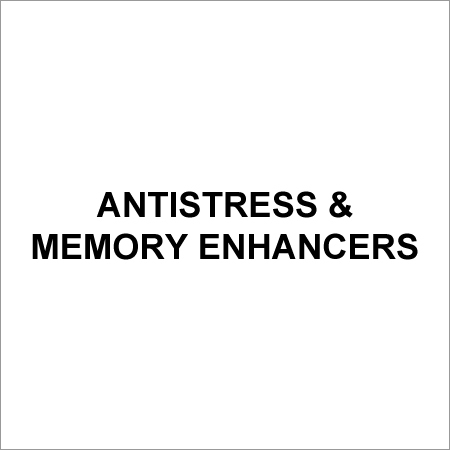 Antistress & Memory Enhancers