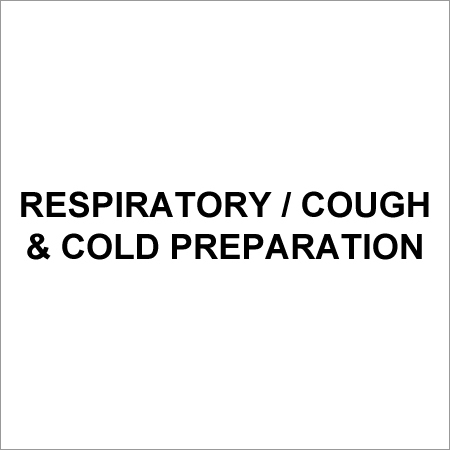 Respiratory / Cough & Cold Preparation