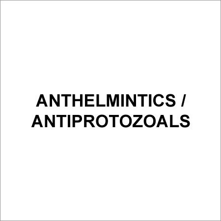 Anthelmintics / Antiprotozoals