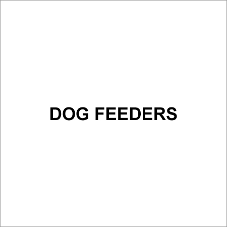 Dog Feeders